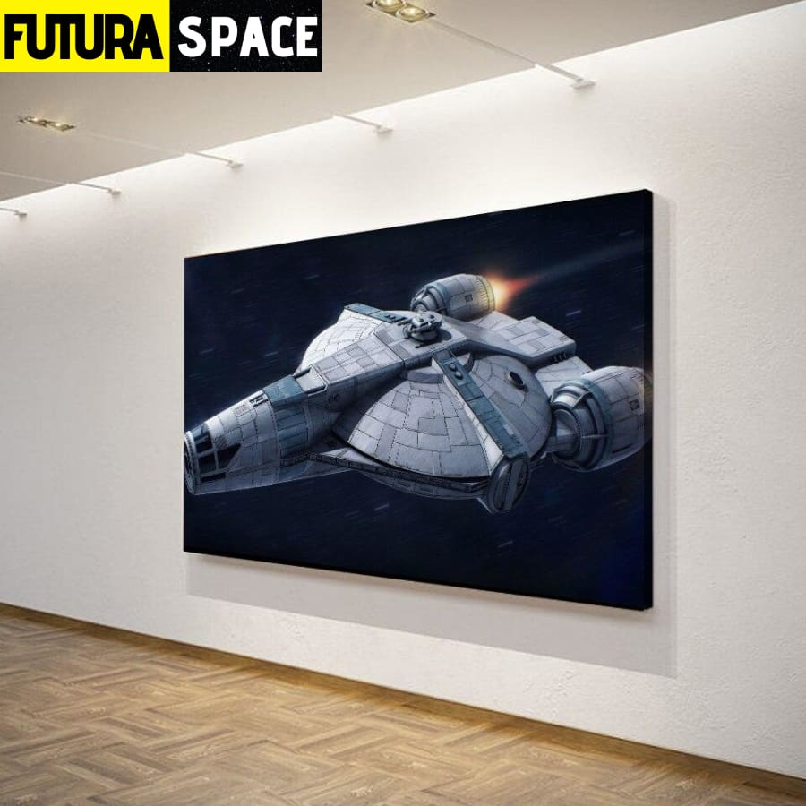 Canvas Art - Space painting - 1704