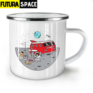 Cosmos Camp Mug - White / 301-400ml - 100003290