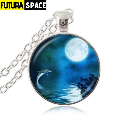 FULL MOON NECKLACE - 9 - 200000162