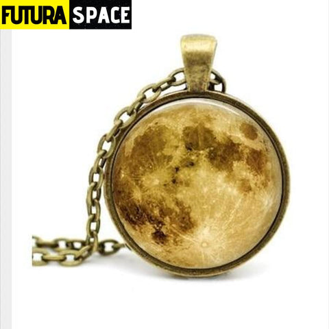 FULL MOON NECKLACE - 6 - 200000162
