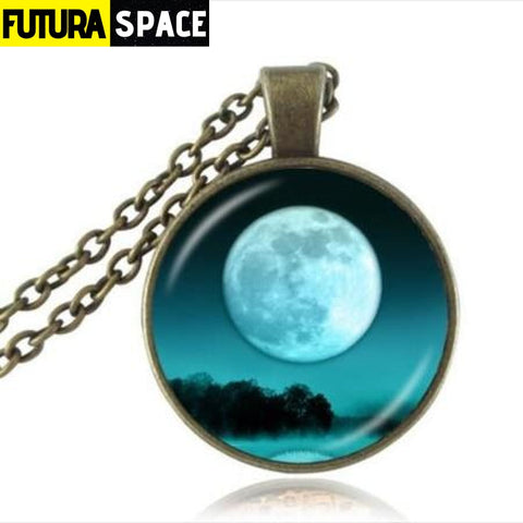 FULL MOON NECKLACE - 15 - 200000162