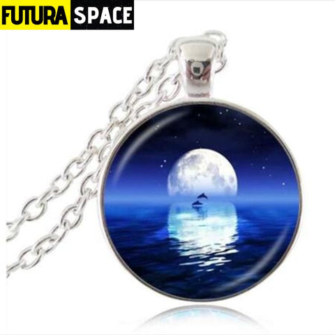 FULL MOON NECKLACE - 17 - 200000162