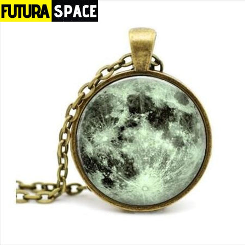 FULL MOON NECKLACE - 8 - 200000162
