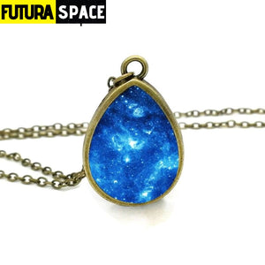 GALAXY AND SPACE NECKLACE - 200000162