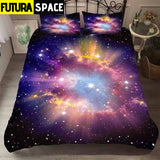 Galaxy Bedding Set - Color-1 / US Full 3pcs - 40601