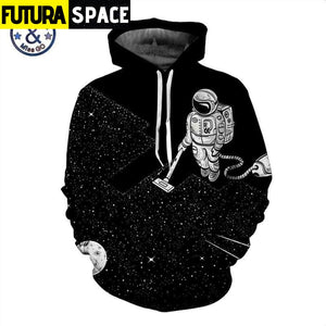 GALAXY HOODIE - OUTER SPACE - 200000344