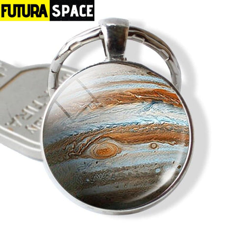 Galaxy Planet Keychain - as show 7 / Clear - 200000174