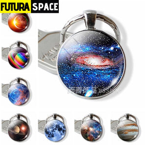 Galaxy Planet Keychain - 200000174