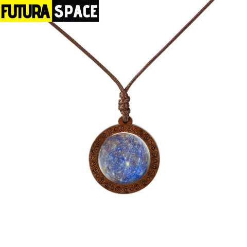 GALAXY WOOD NECKLACE - 7 - 200000162