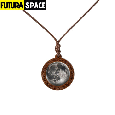 GALAXY WOOD NECKLACE - 9 - 200000162
