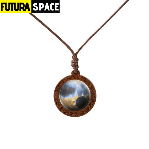 GALAXY WOOD NECKLACE - 6 - 200000162