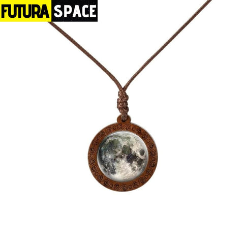 GALAXY WOOD NECKLACE - 13 - 200000162