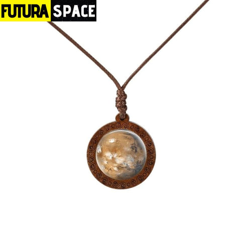 GALAXY WOOD NECKLACE - 16 - 200000162