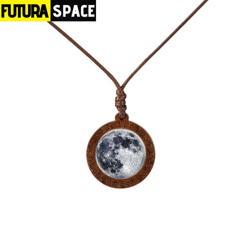 GALAXY WOOD NECKLACE - 11 - 200000162