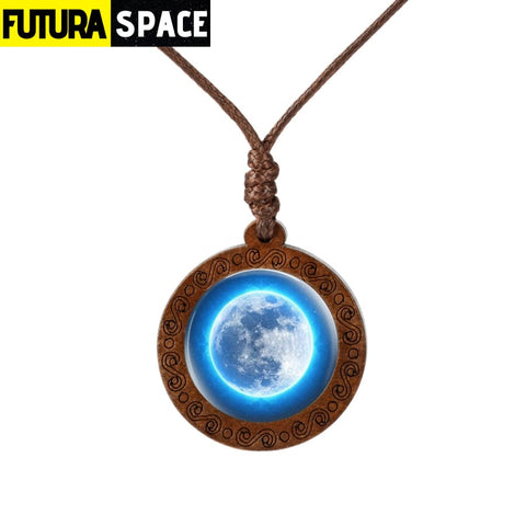 GALAXY WOOD NECKLACE - 200000162