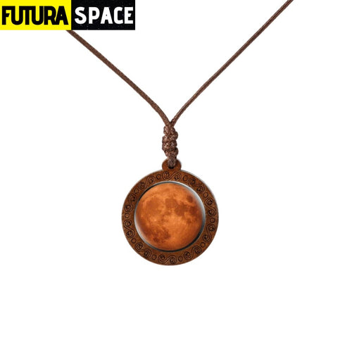 GALAXY WOOD NECKLACE - 4 - 200000162