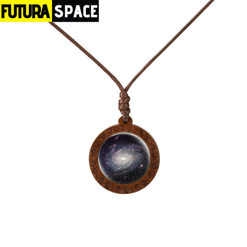 GALAXY WOOD NECKLACE - 3 - 200000162