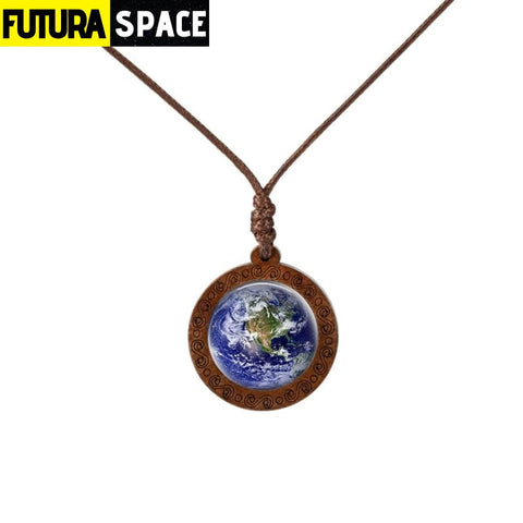 GALAXY WOOD NECKLACE - 15 - 200000162