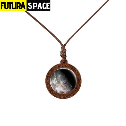 GALAXY WOOD NECKLACE - 20 - 200000162