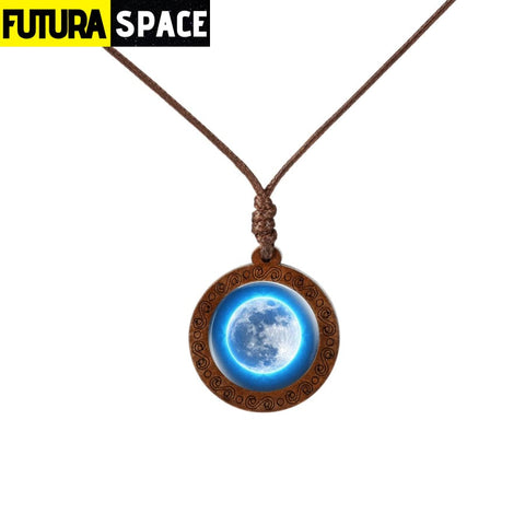 GALAXY WOOD NECKLACE - 5 - 200000162