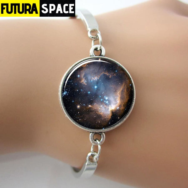 GLASS GEM GALAXY BRACELET - 200000147