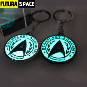 Glowing Star Trek keychain - 200000174