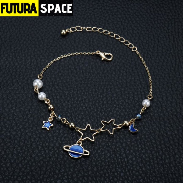 GOLD MOON STAR BRACELET - 200000147