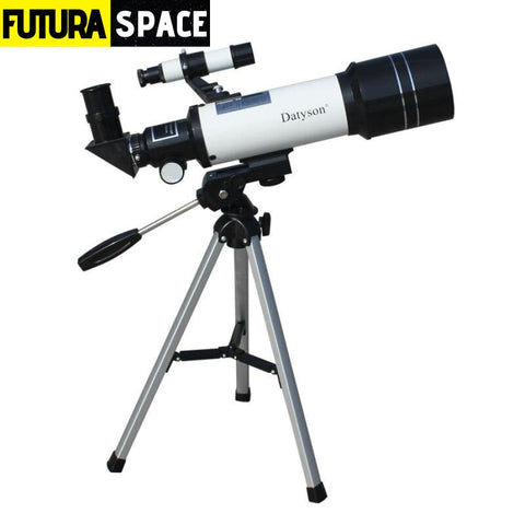 HD Astronomical Telescope with Tripod - 90 Angle Adapter -