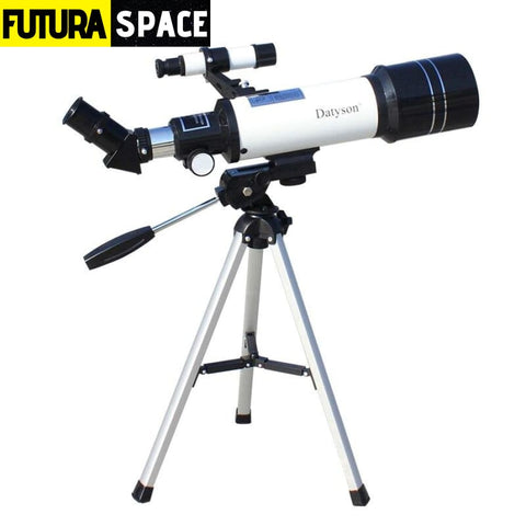 HD Astronomical Telescope with Tripod - 45 Angle Adapter -