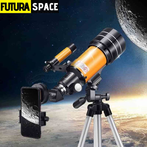 HD professional astronomical telescope - Option 3 -