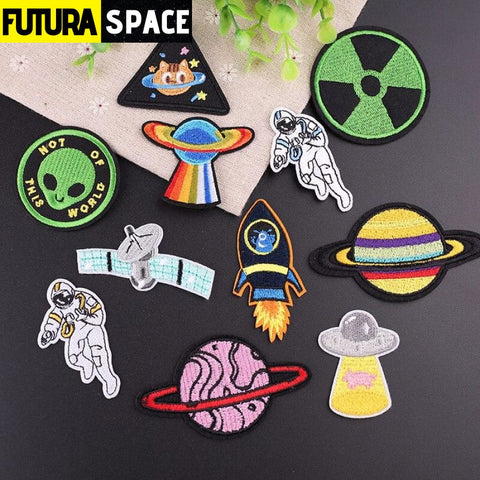 Iron On Space Patches - 100005735