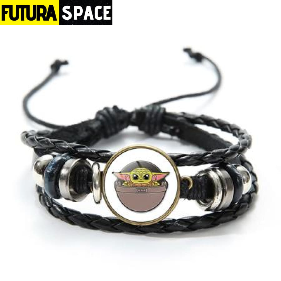 MASTER YODA BRACELET (STAR WARS) - Style 7 / China -