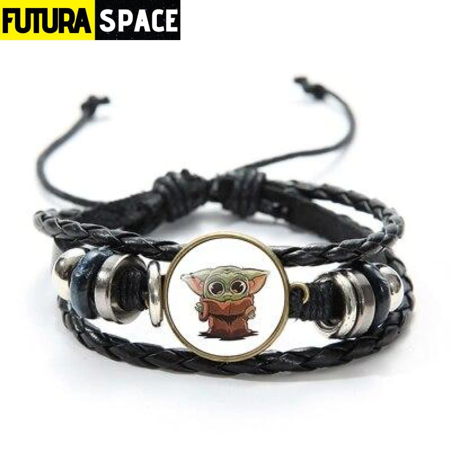 MASTER YODA BRACELET (STAR WARS) - Style 9 / China -