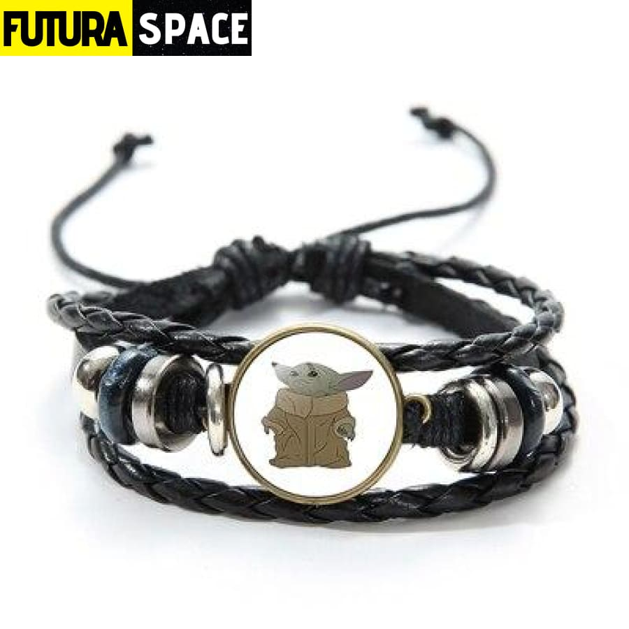 MASTER YODA BRACELET (STAR WARS) - Style 4 / China -