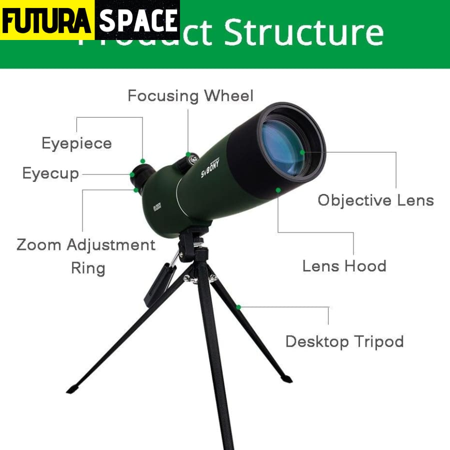 MONOCULAR TELESCOPE - SV28 50/60/70mm - 200001990