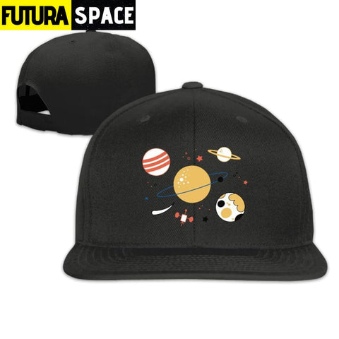 MOON ASTRONAUT CAP - Brown / One Size - 200000403
