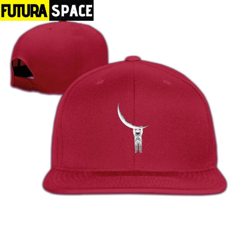 MOON ASTRONAUT CAP - Red / One Size - 200000403