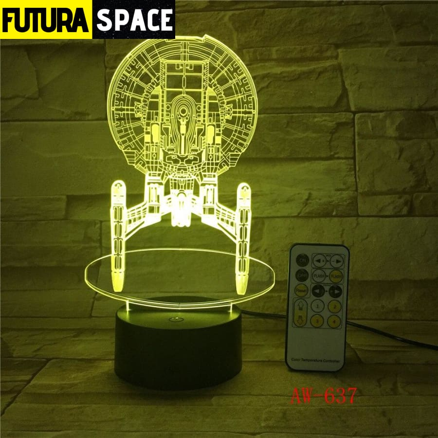 MOON LAMP -7 Color Mood LED