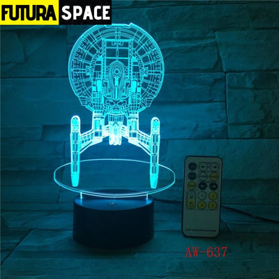 MOON LAMP -7 Color Mood LED - 39050508