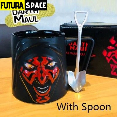 Mug Star Wars 3D - Cup with spoon - 100003290
