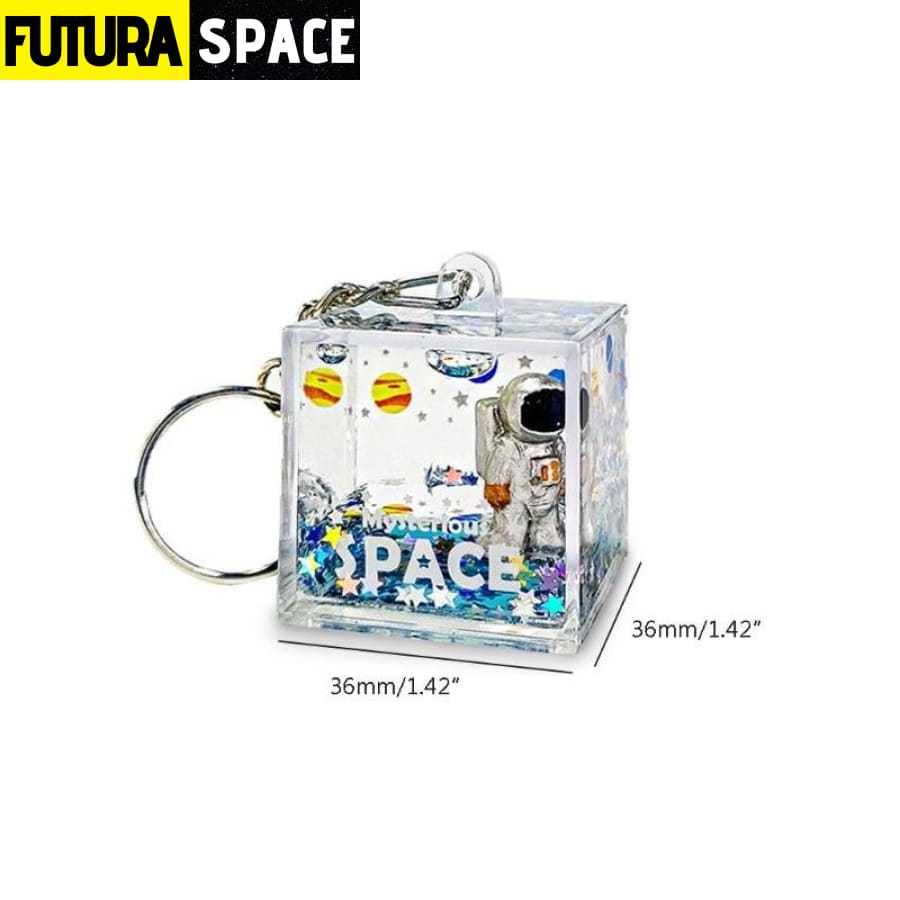 Mysterious Space Keychain - 200000174