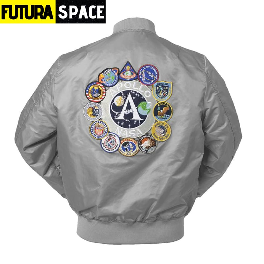 NASA BOMBER JACKET - Black / XXS - 200000798