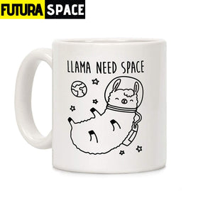 Need Space Parody Mug - 301-400ml - 100003290