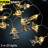 Night Light - Spaceship Rocket LED - 3m 20 lights - 39050508