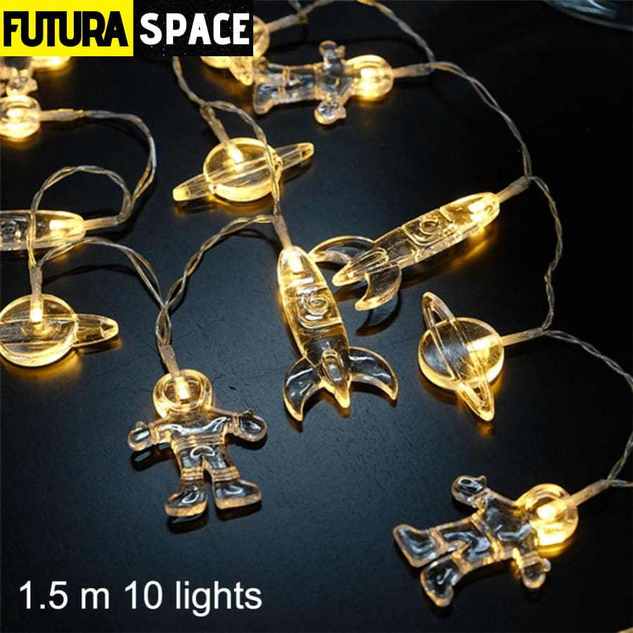 Night Light - Spaceship Rocket LED