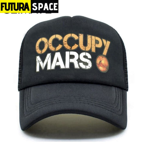 OCCUPY MARS SPACE CAP - Fits 55to58cm head - 200000403