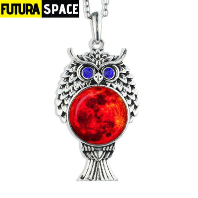 OWL GALAXY NECKLACE - size 12 - 200000162