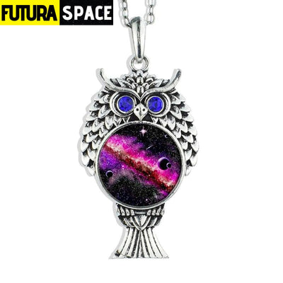 OWL GALAXY NECKLACE - size 1 - 200000162
