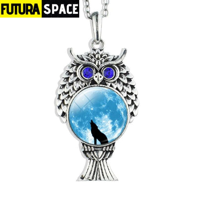 OWL GALAXY NECKLACE - size 6 - 200000162