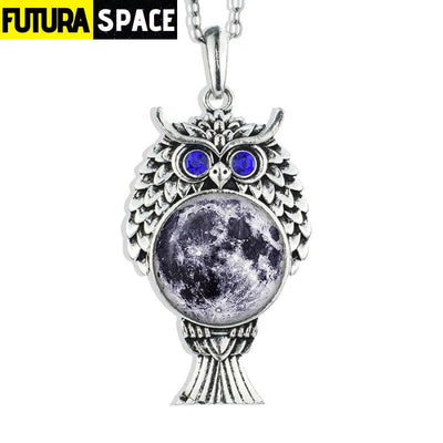 OWL GALAXY NECKLACE - size 7 - 200000162